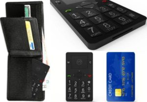 telefon komórkowy rozmiary karty kredytowej