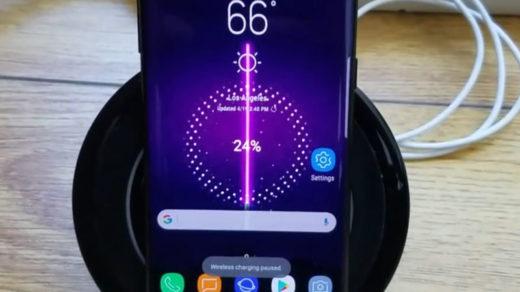 Ładowanie Galaxy S8