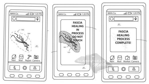 samonaprawiający smartfon