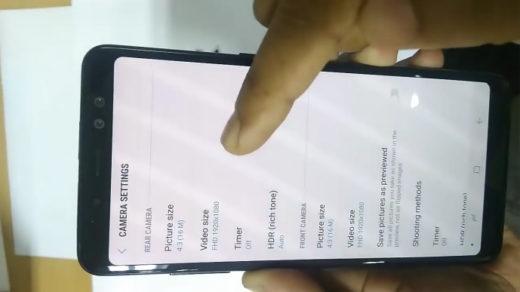 Galaxy A8+ 2018