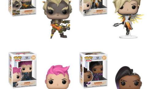 figurki z Overwatch