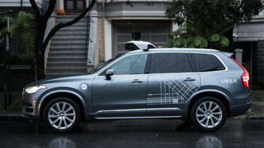autonomiczny samochód Ubera
