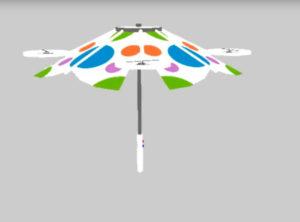 Latająca parasolka