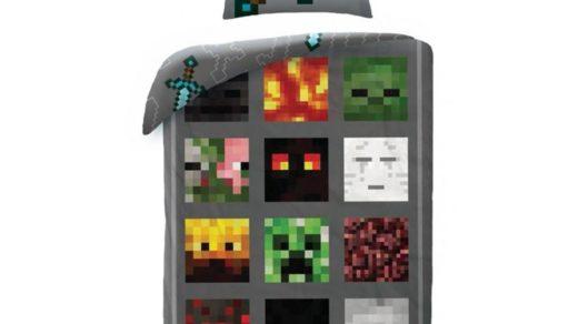 pościel dla fana gry Minecraft