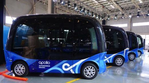 autonomiczne autobusy