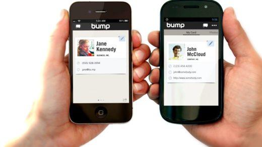 przesyłanie danych pomiędzy telefonami