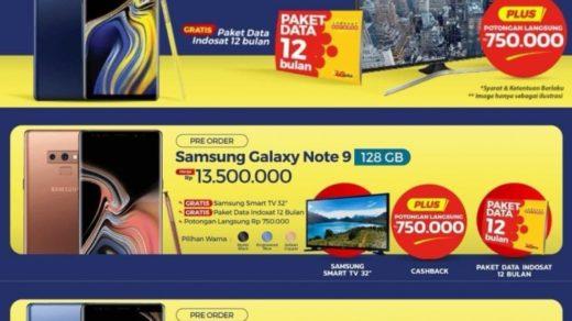cena Galaxy Note 9