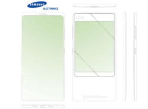 smartfon z dwoma ekranami