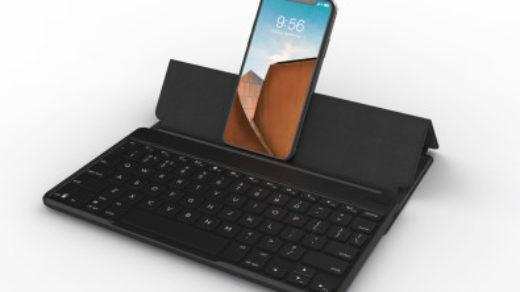 bezprzewodową klawiaturę
