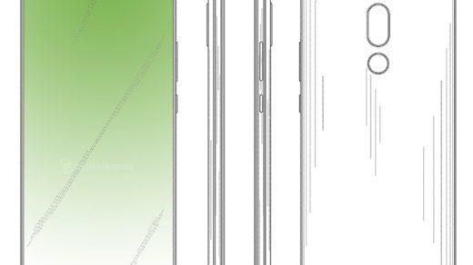 smartfona z dziurą w wyświetlaczu