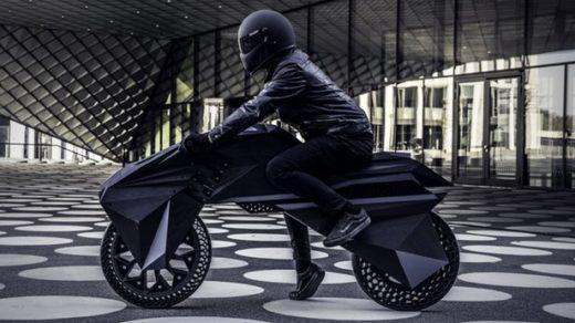 motocykl z drukarki 3D