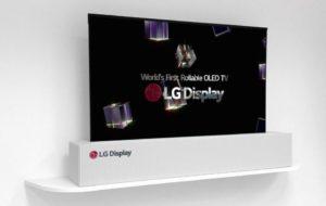 zwijany telewizor LG