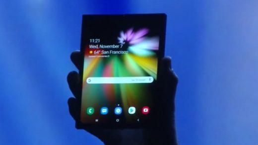 technologii składanych smartfonów