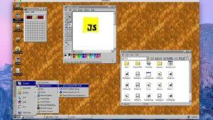 Windows 95 Electron