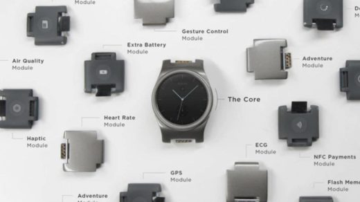 modularny smartwatch
