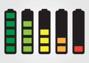 żelazowo-jonową baterię